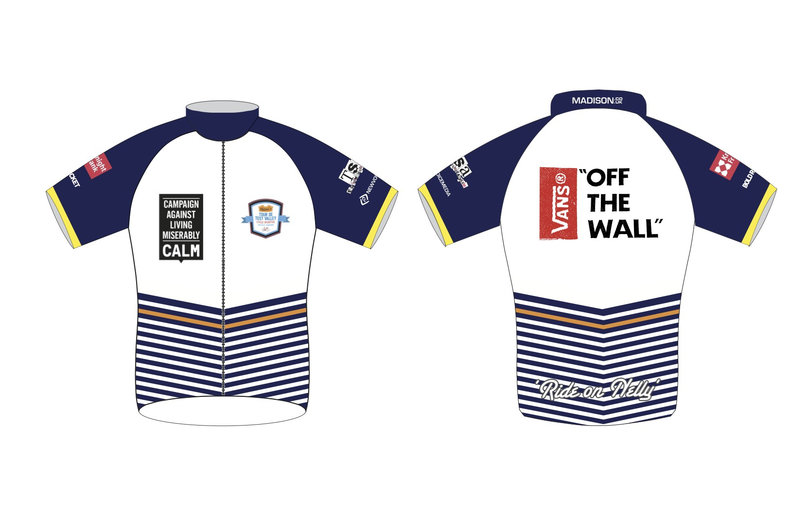 NEWSFLASH!! BRAND SPANKING NEW 'Ride On Nelly' Cycle Jersey!